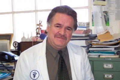 Antonio E. Garmendia smiling